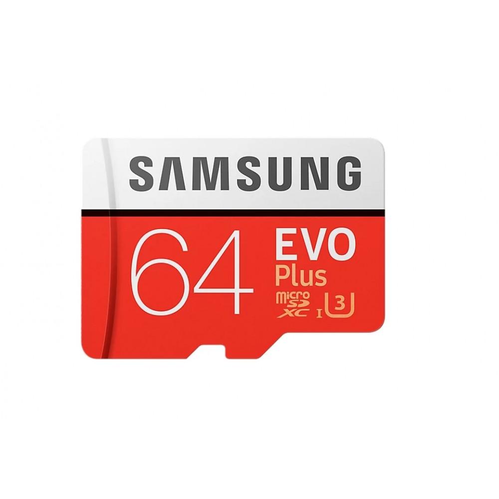 Карта памяти 64 GB  Samsung EVO Plus MB-MC64GA купить в Краснодаре