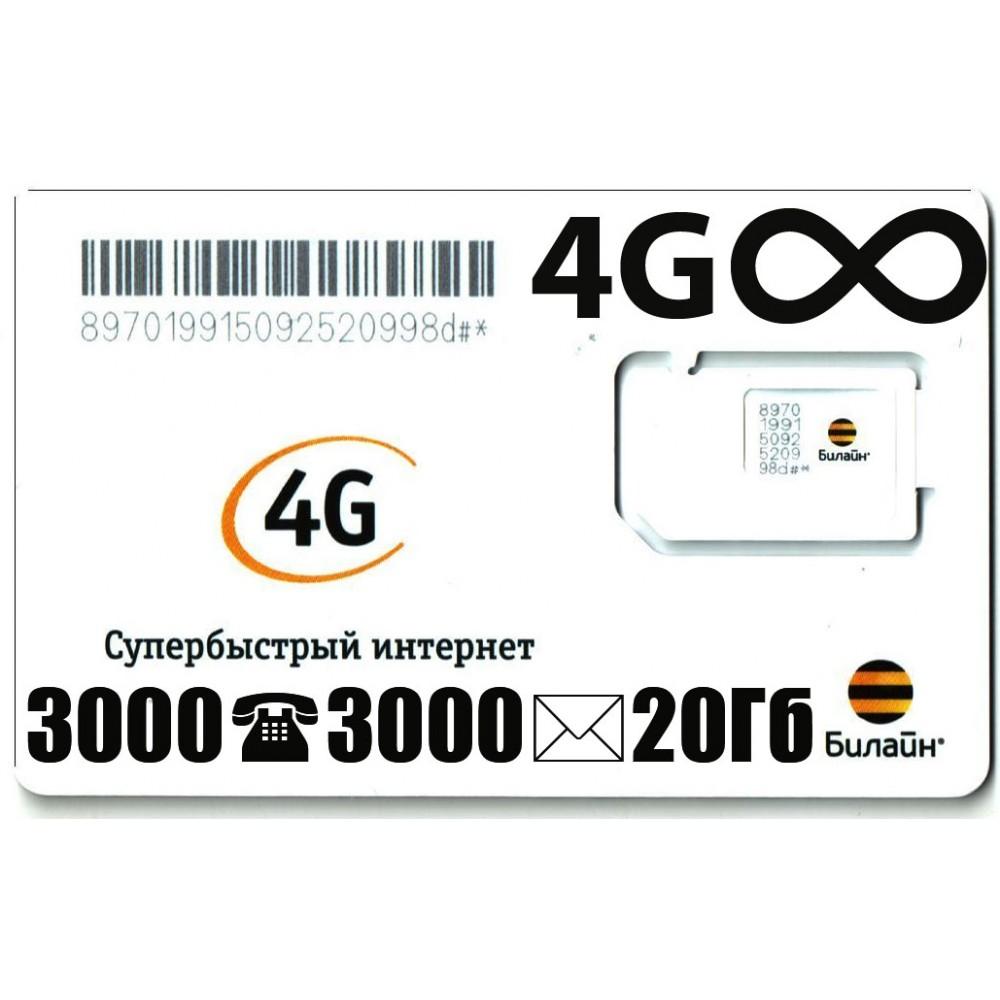 Тариф Билайн «790» купить в г. Краснодар