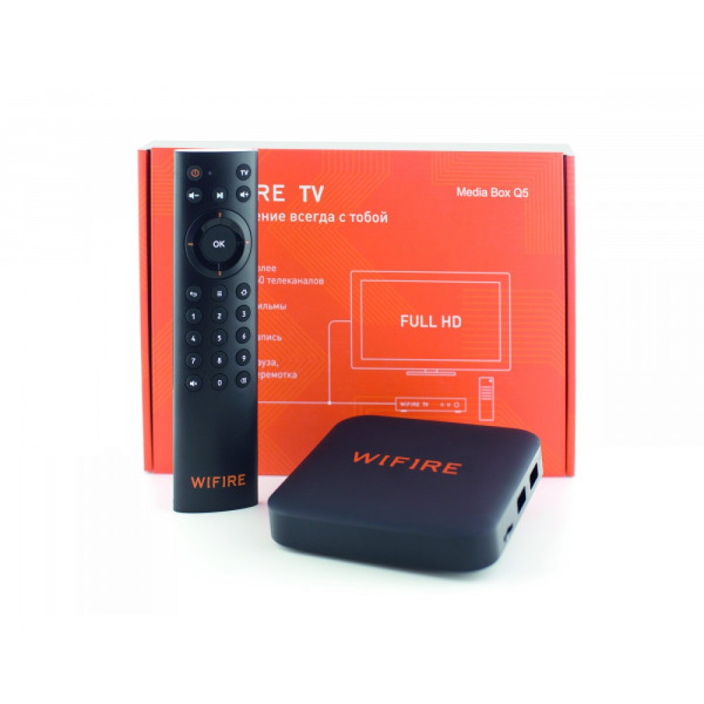 Медиацентр Wifire TV Media Box Q5 купить в Краснодаре