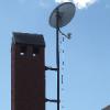 Мачта металлическая для крепления LTE антенн